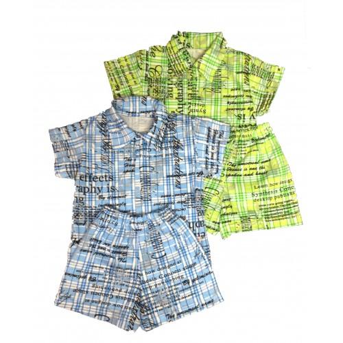 Сорочка з коротким рукавом і шорти (Кулір)