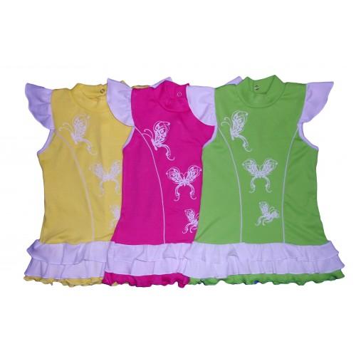 Сукня з метеликами (Інтерлок) Знижка 15%!